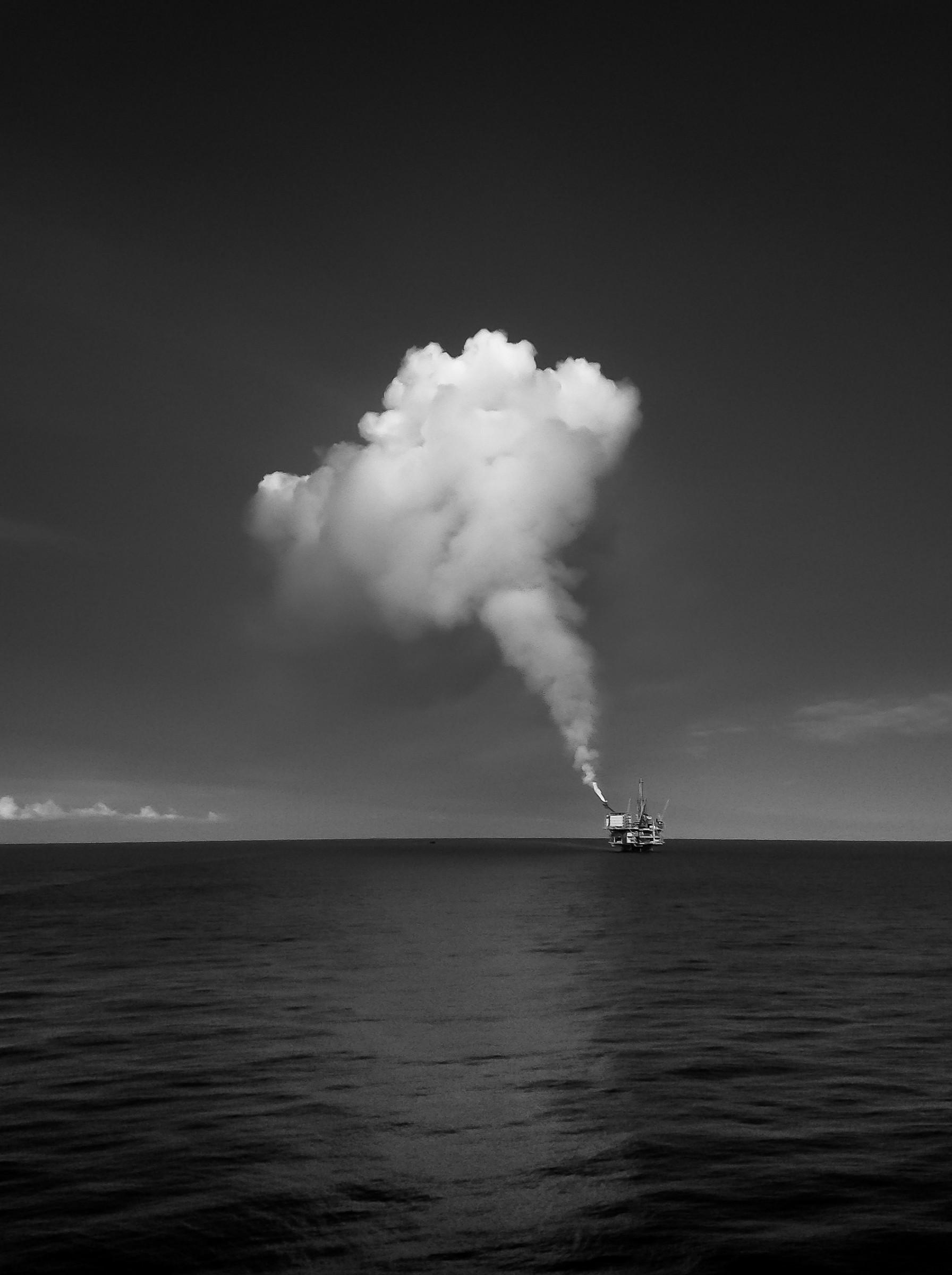 Jade oil platform Equatorial Guinea...