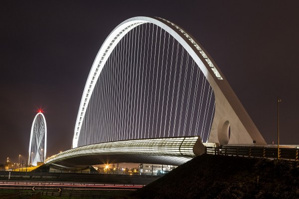 Due ponti di calatrava reggio emilia juzaphoto for Tre stelle arreda reggio emilia