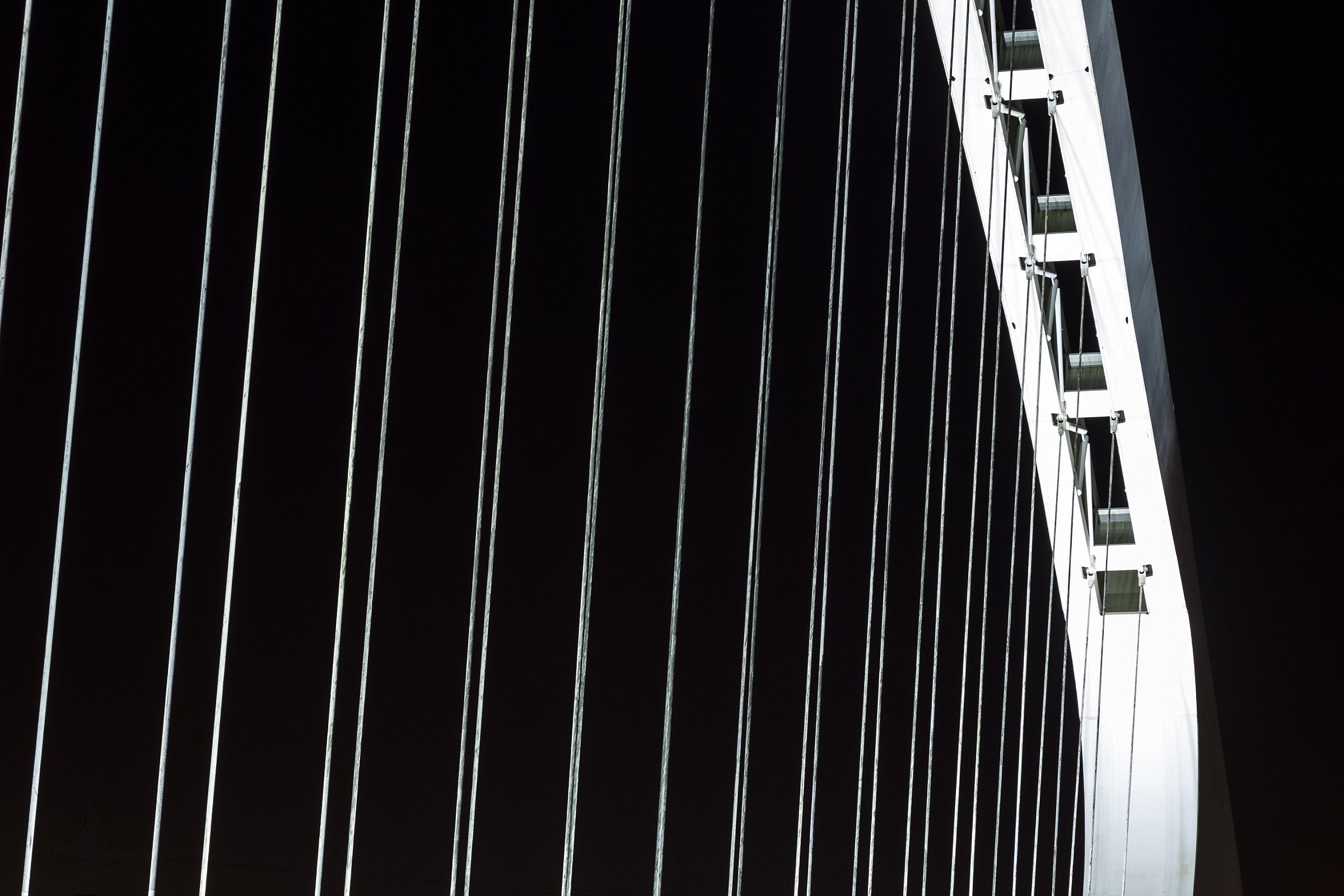 L'arco del ponte di Calatrava - Reggio Emilia...