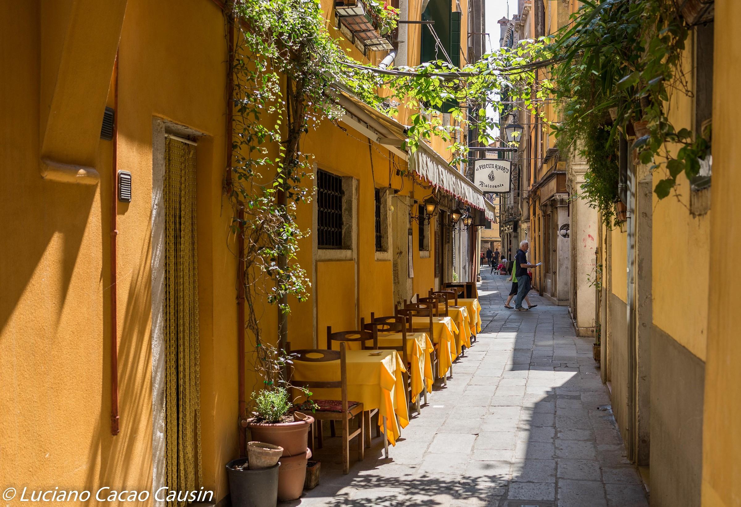 El Peoceto risen historic Venetian restaurant...