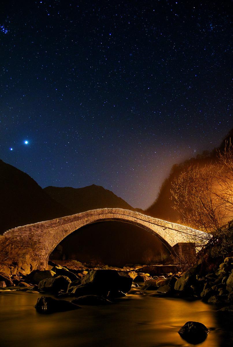 Quiete di un ponte tra i monti...