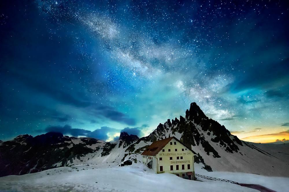 Ai confini del cielo...