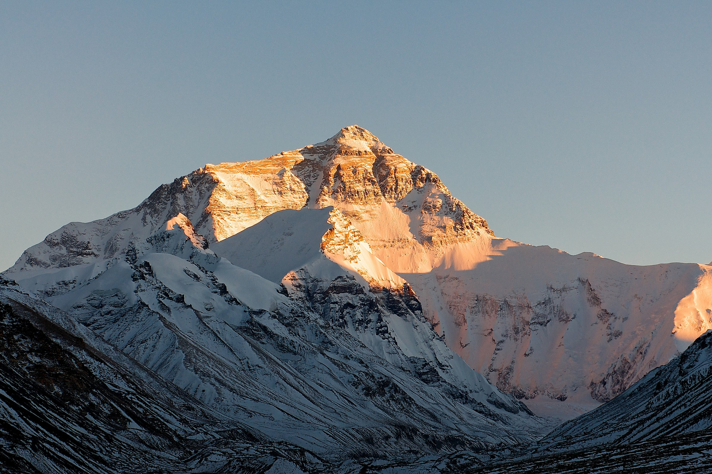 The North Face-Everest al tramonto...