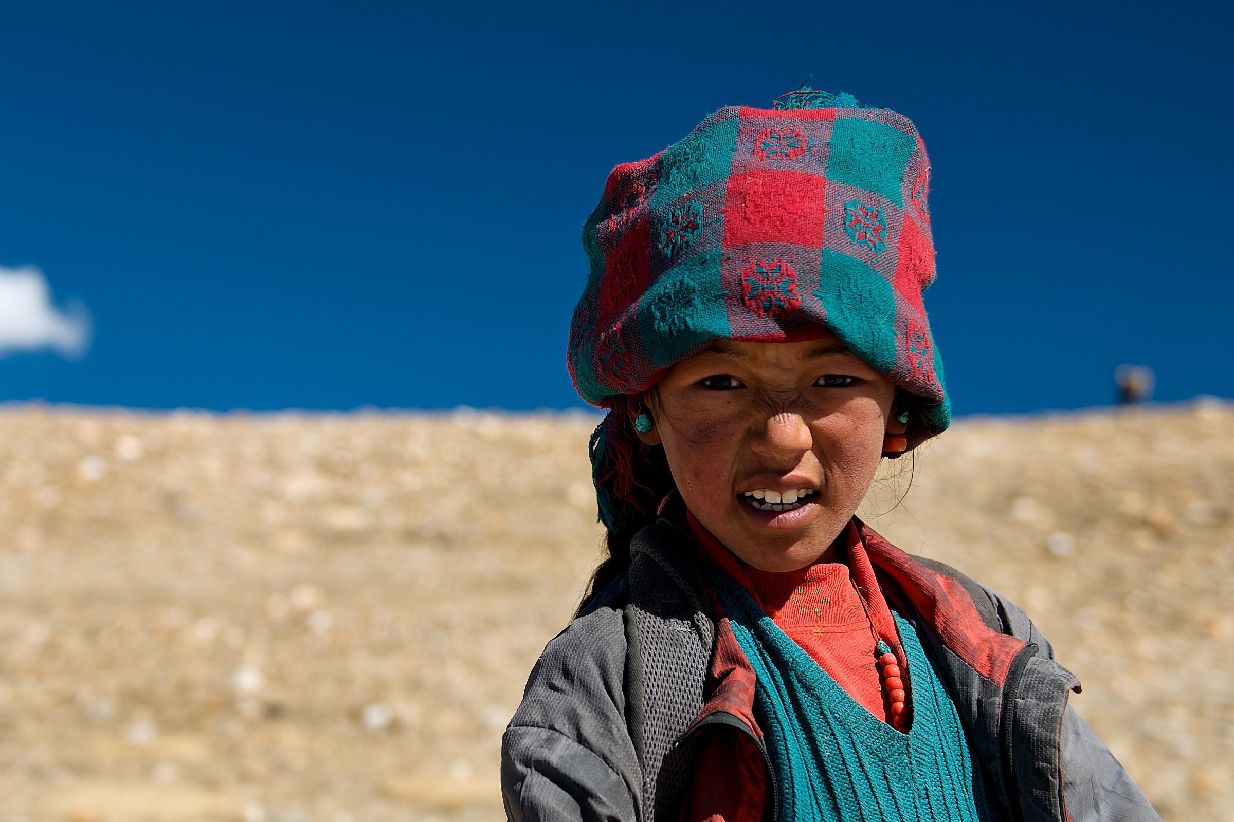 Bambina Tibetana....