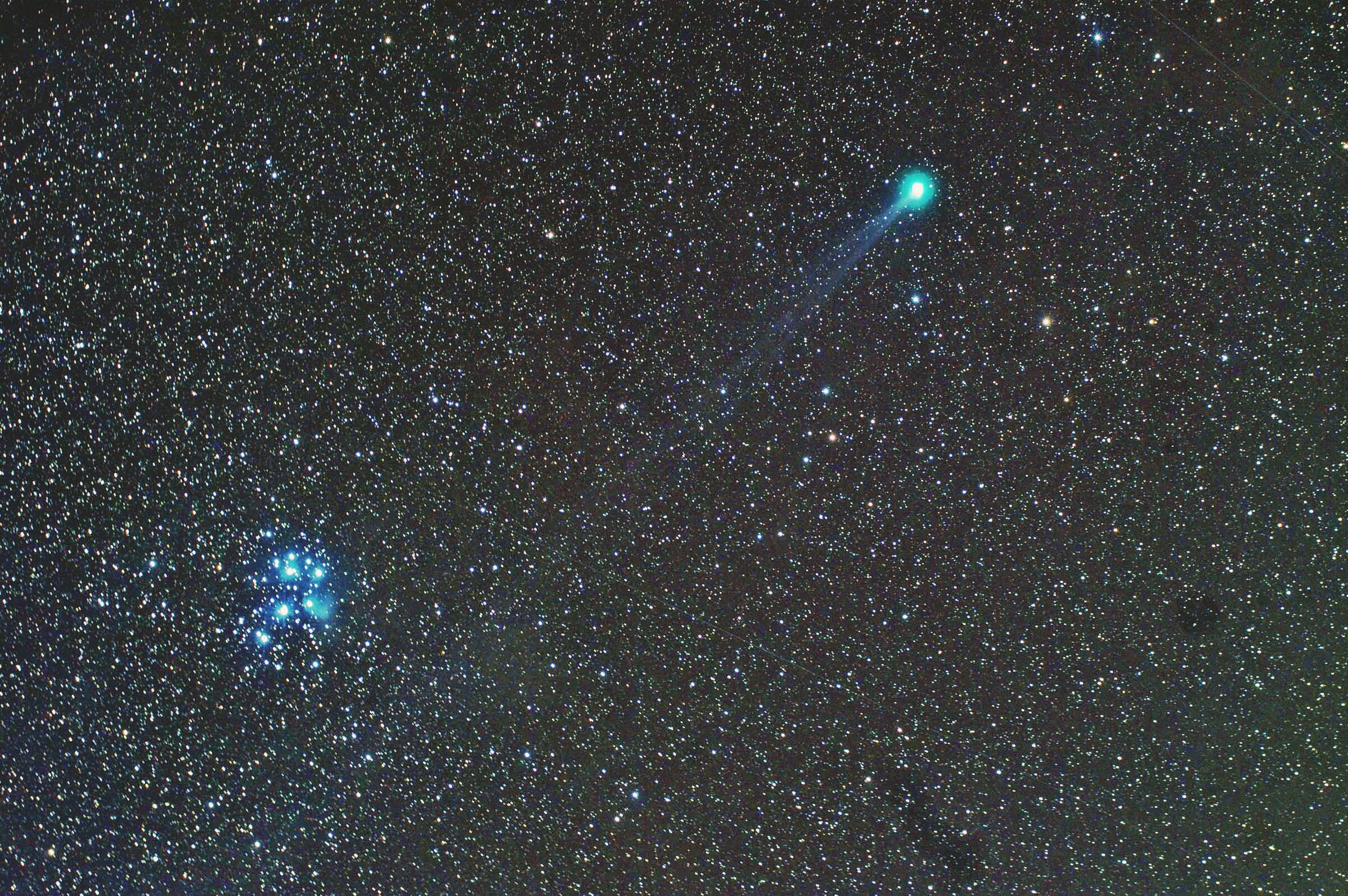 Lovejoy con pleiadi! !...