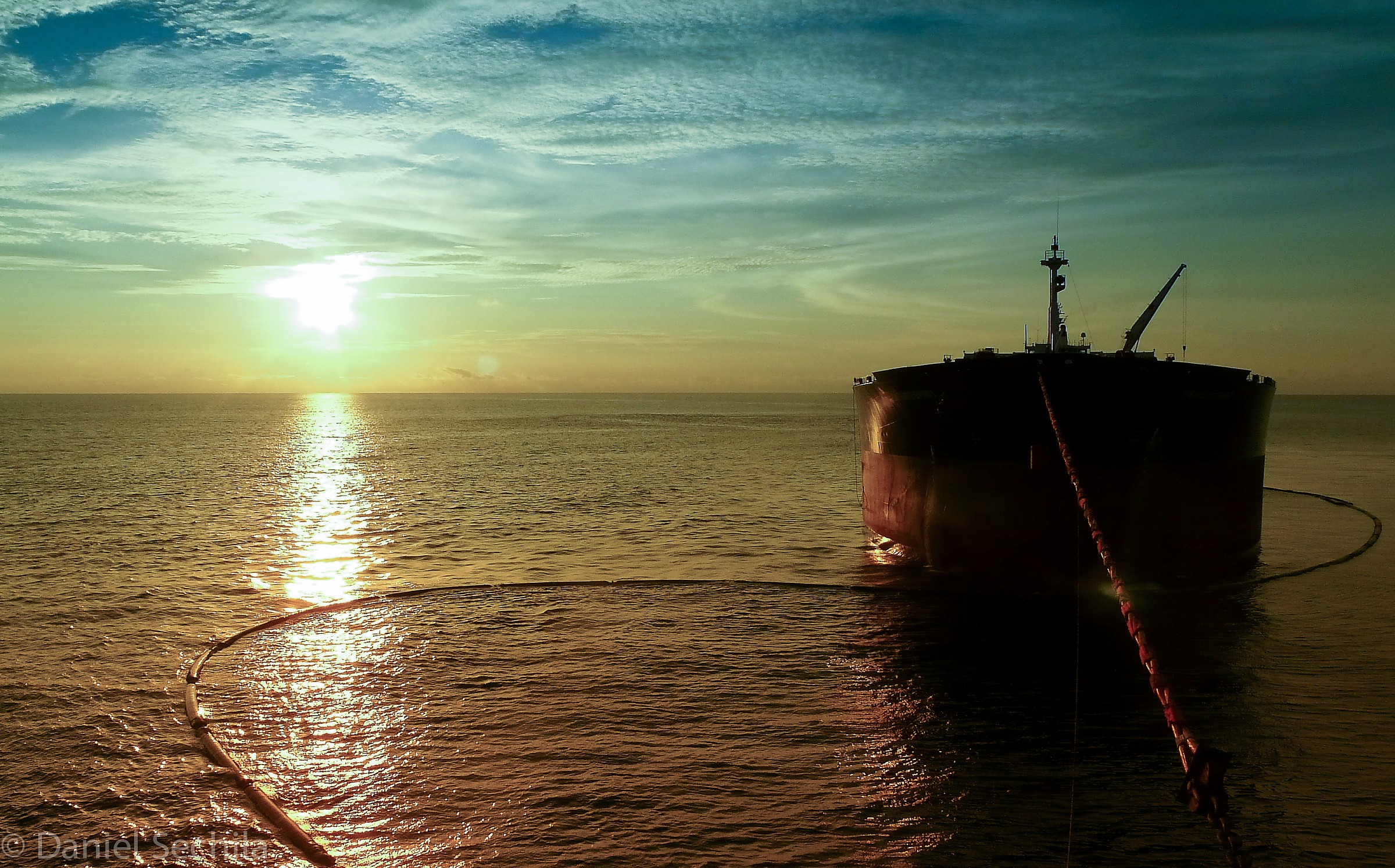oil tanker...