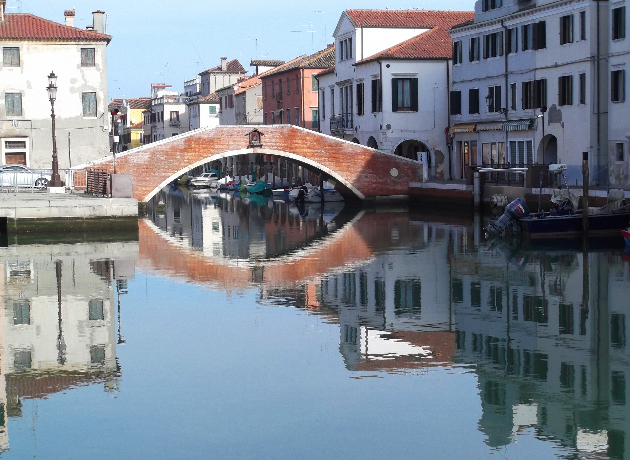 The bridges...