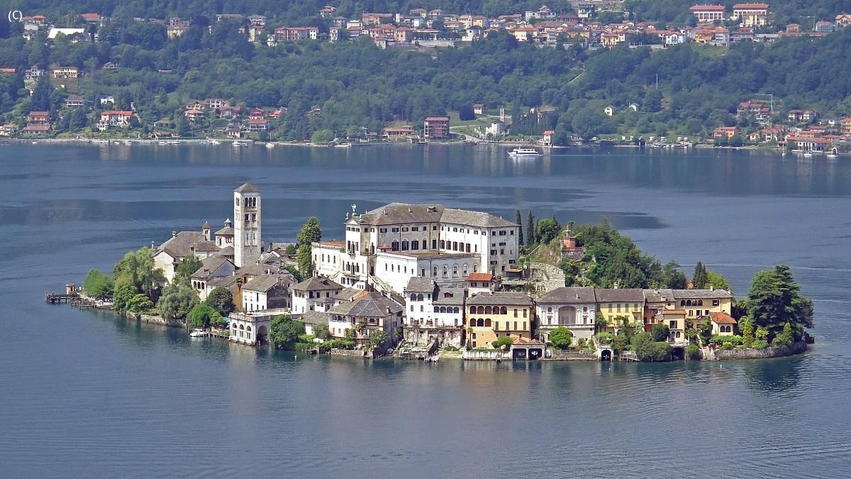 Island of San Giulio...