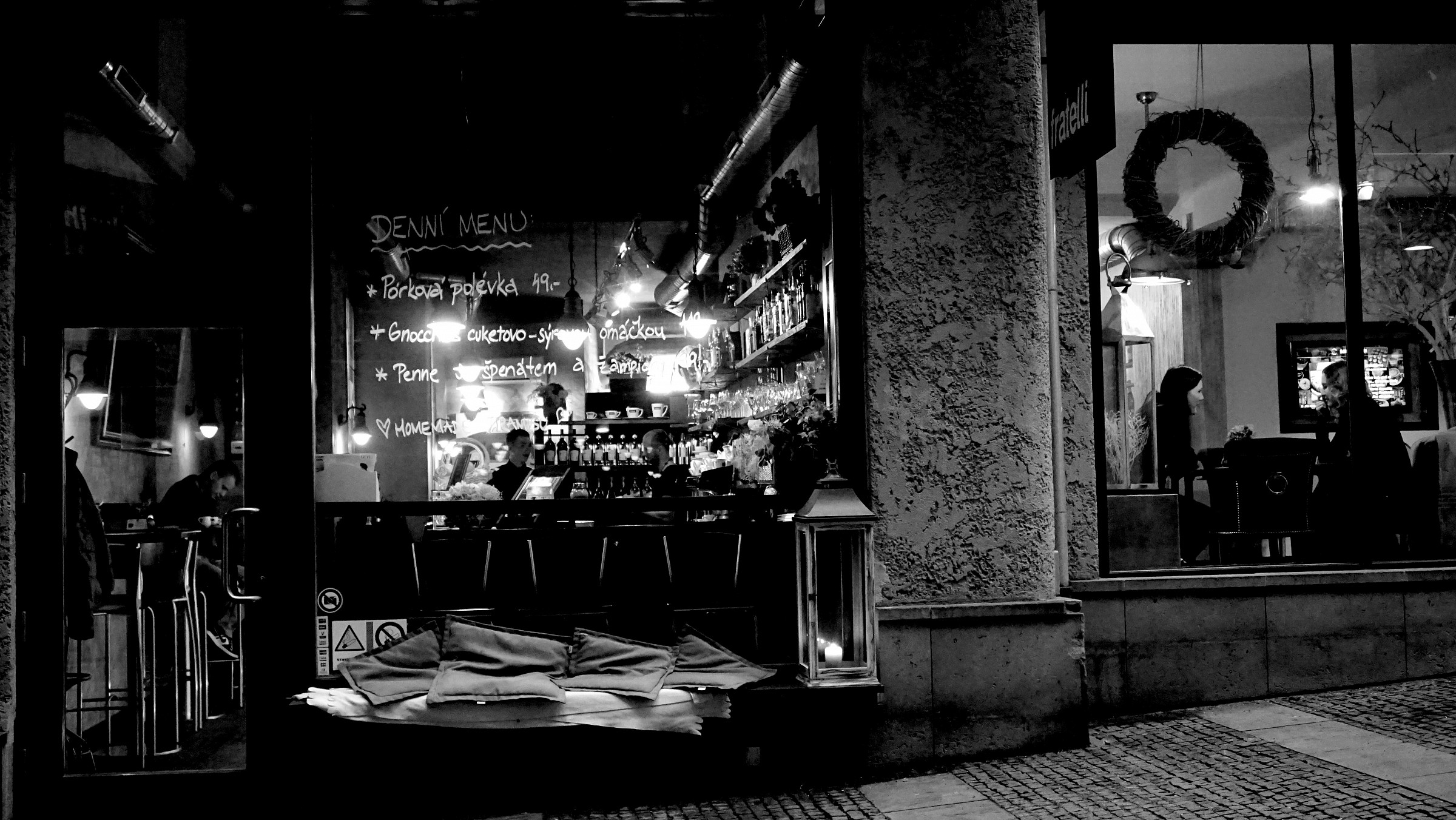 Caffe Fratelli, city of Brno...