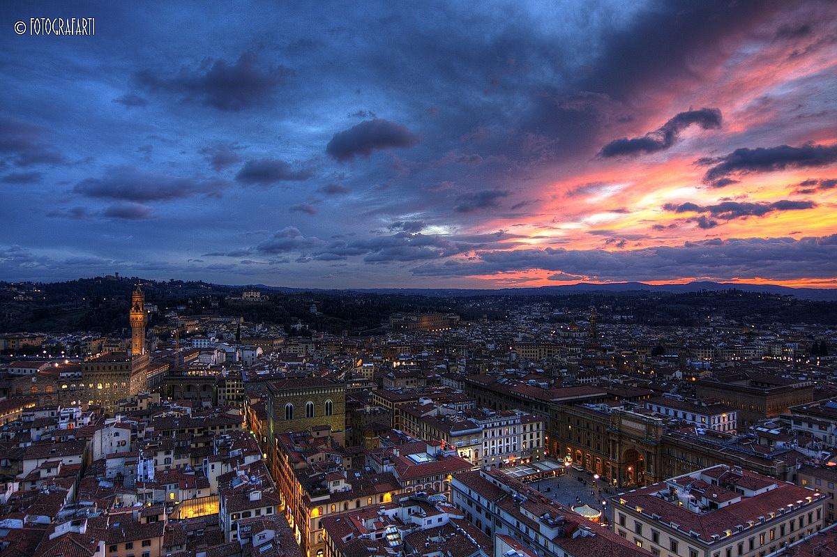 Firenze dal campanile...