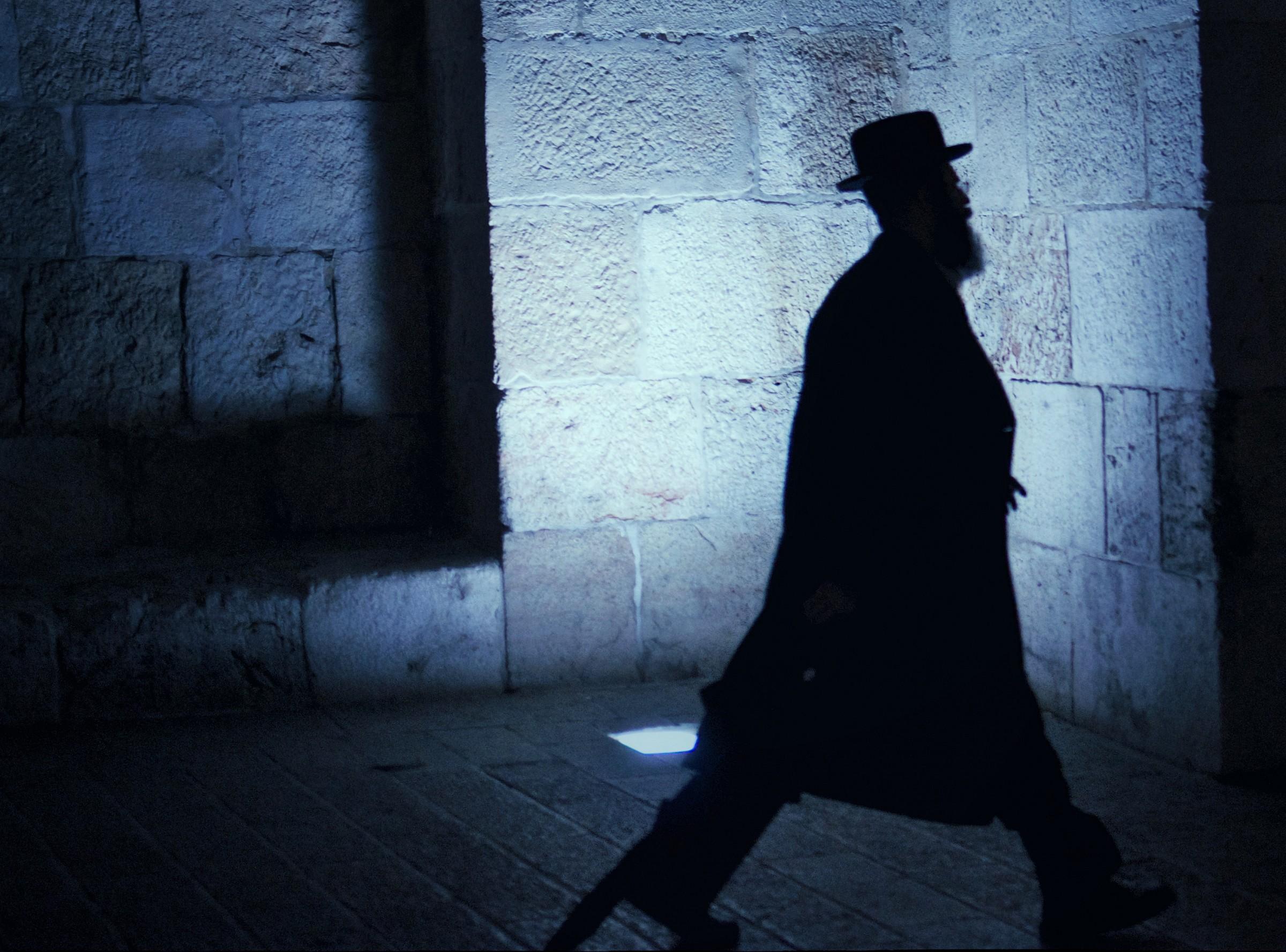 Jerusalem shadows....