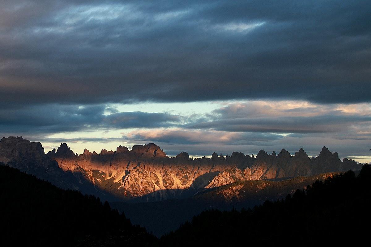 Dolomites - Sunset Spalti Toro...