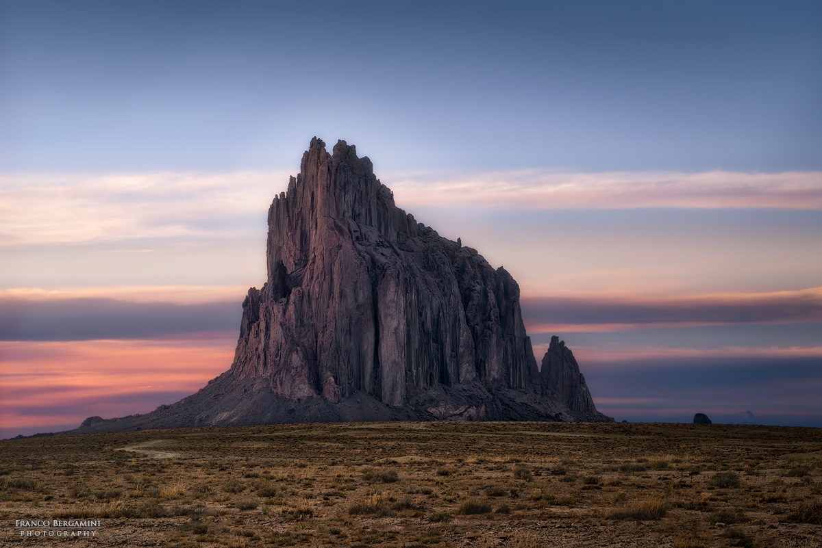 Shiprock, New Mexico...