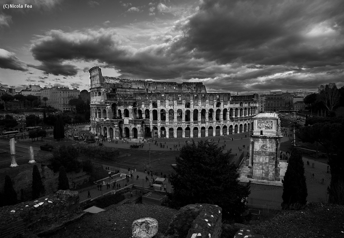 The magnificence of ancient Rome...