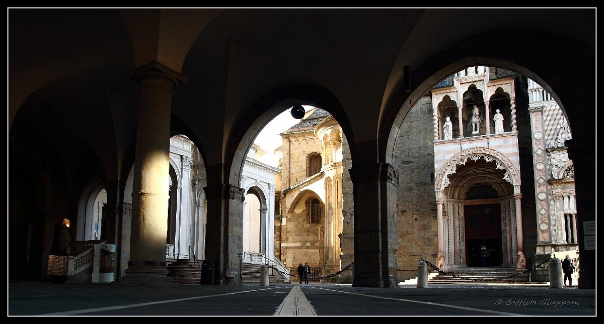 The usual beautiful Città Alta - Bergamo...