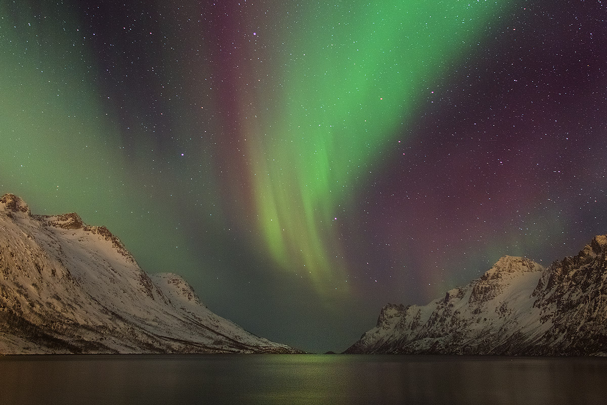 Northern lights Ersfjord...