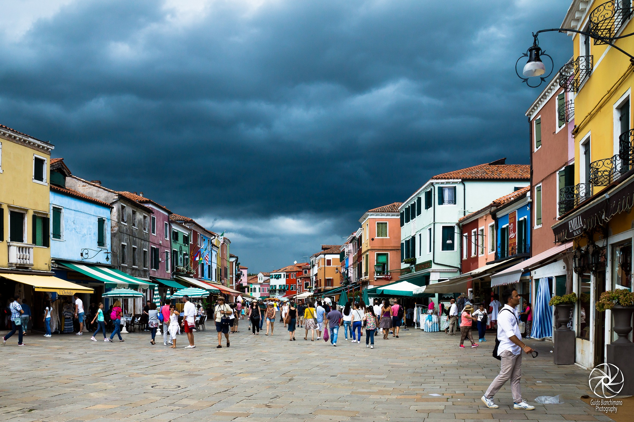 Burano, storm coming ........