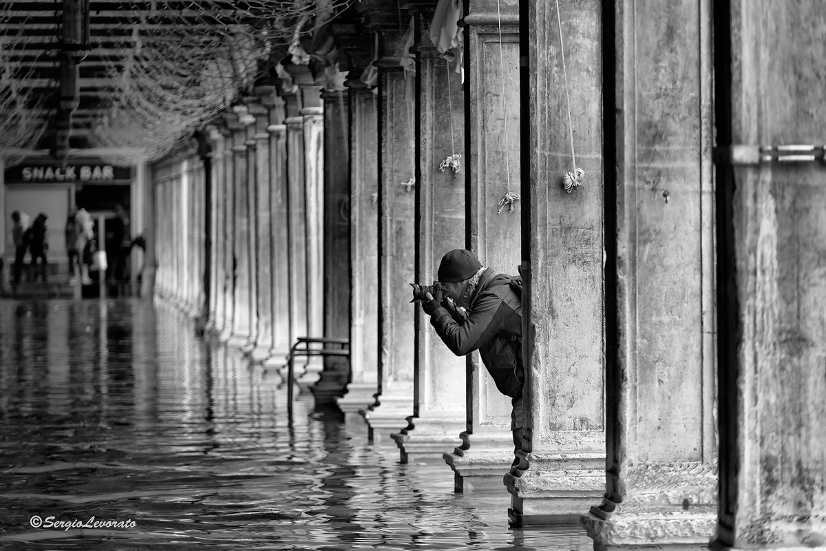 Photographing Venice...