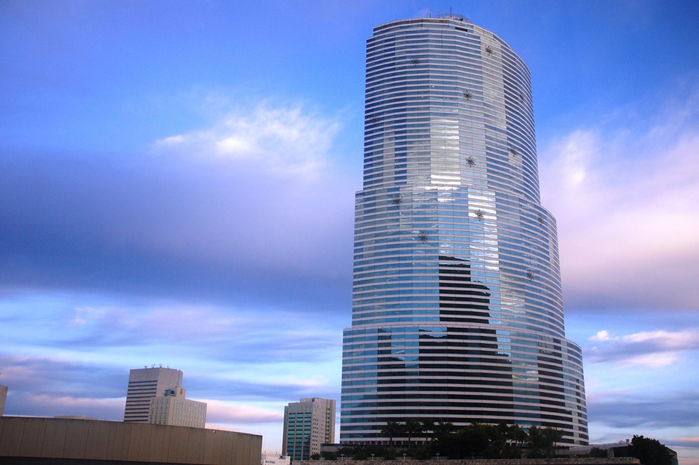 Miami, view from Hyatt...