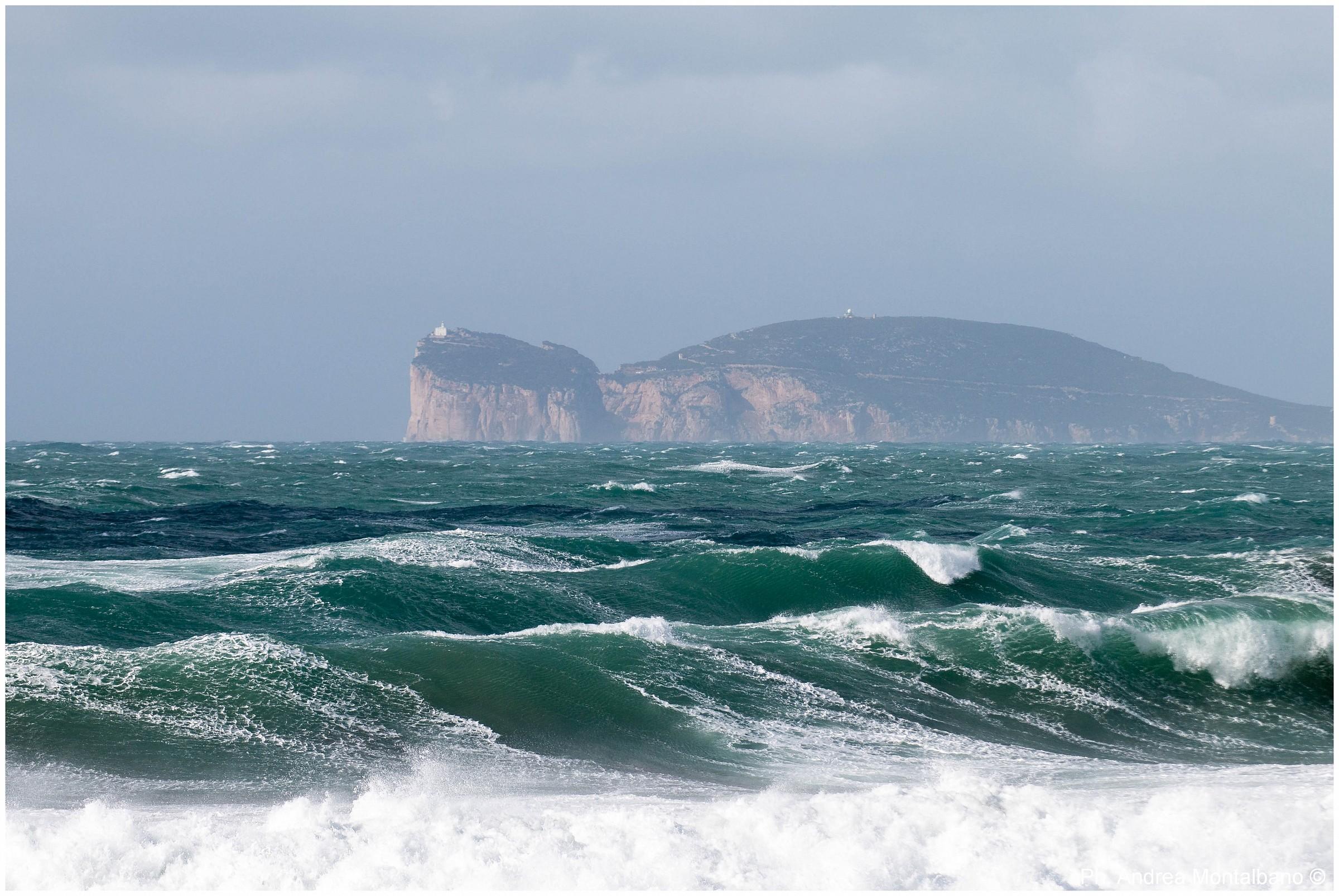 Fury of the Sea...
