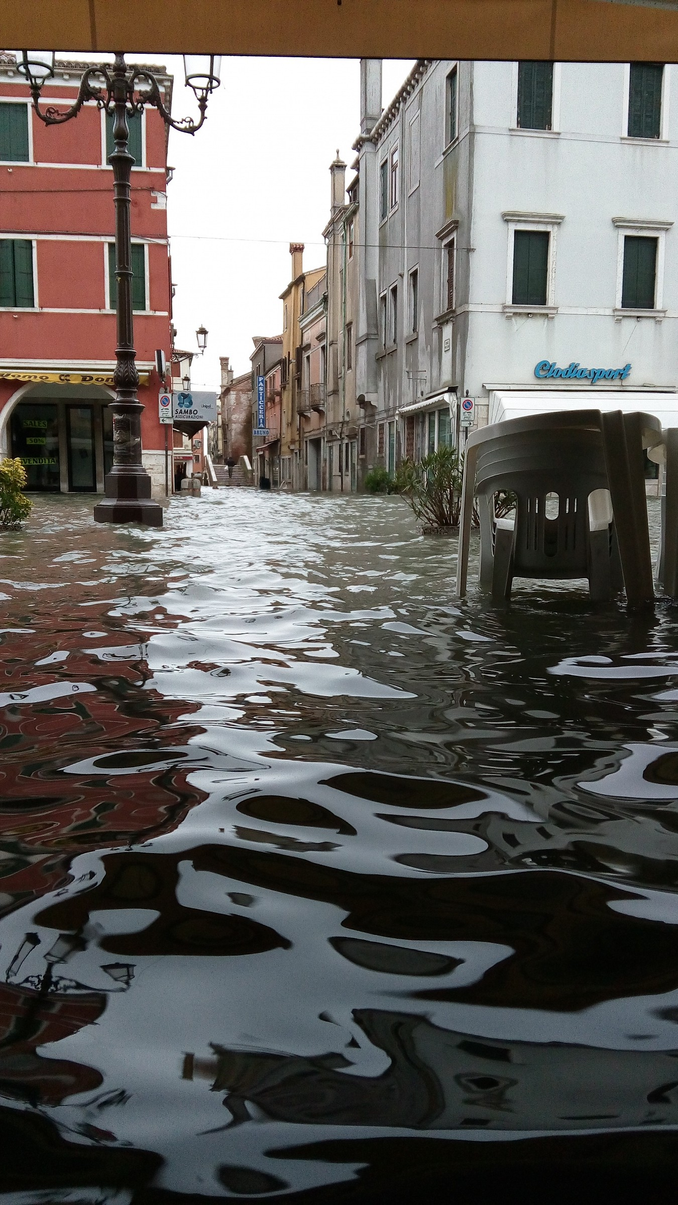 High water in Chioggia...