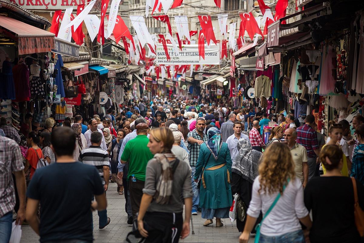 Per le strade di Istanbul...