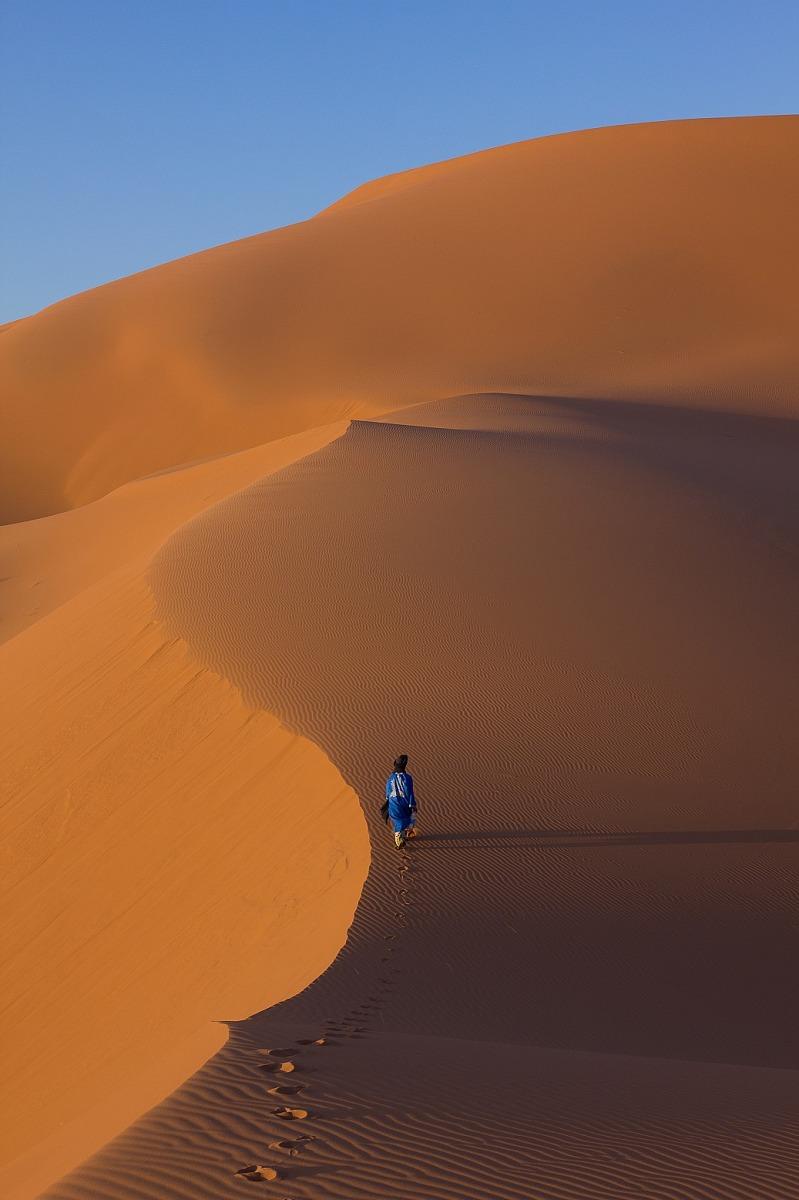 Verso la grande duna...