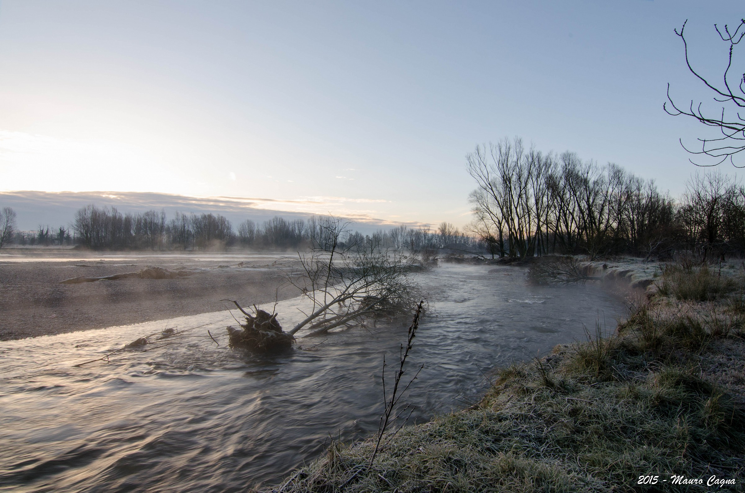 Alba sul fiume Serio #3...