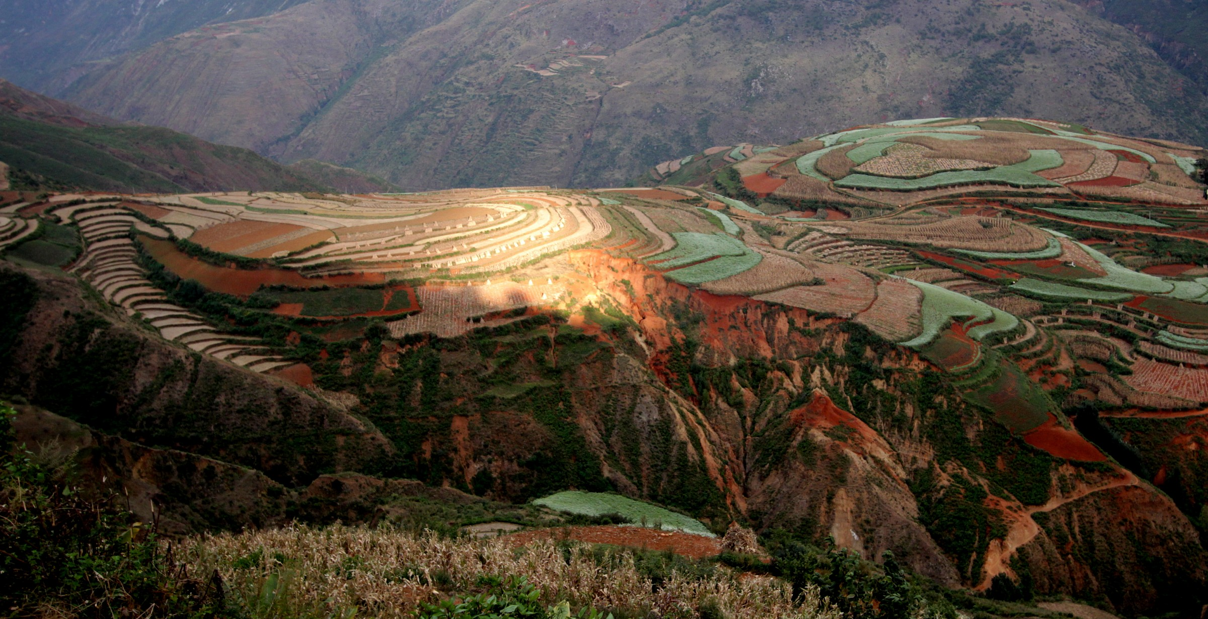 Red earth - Yunnan...