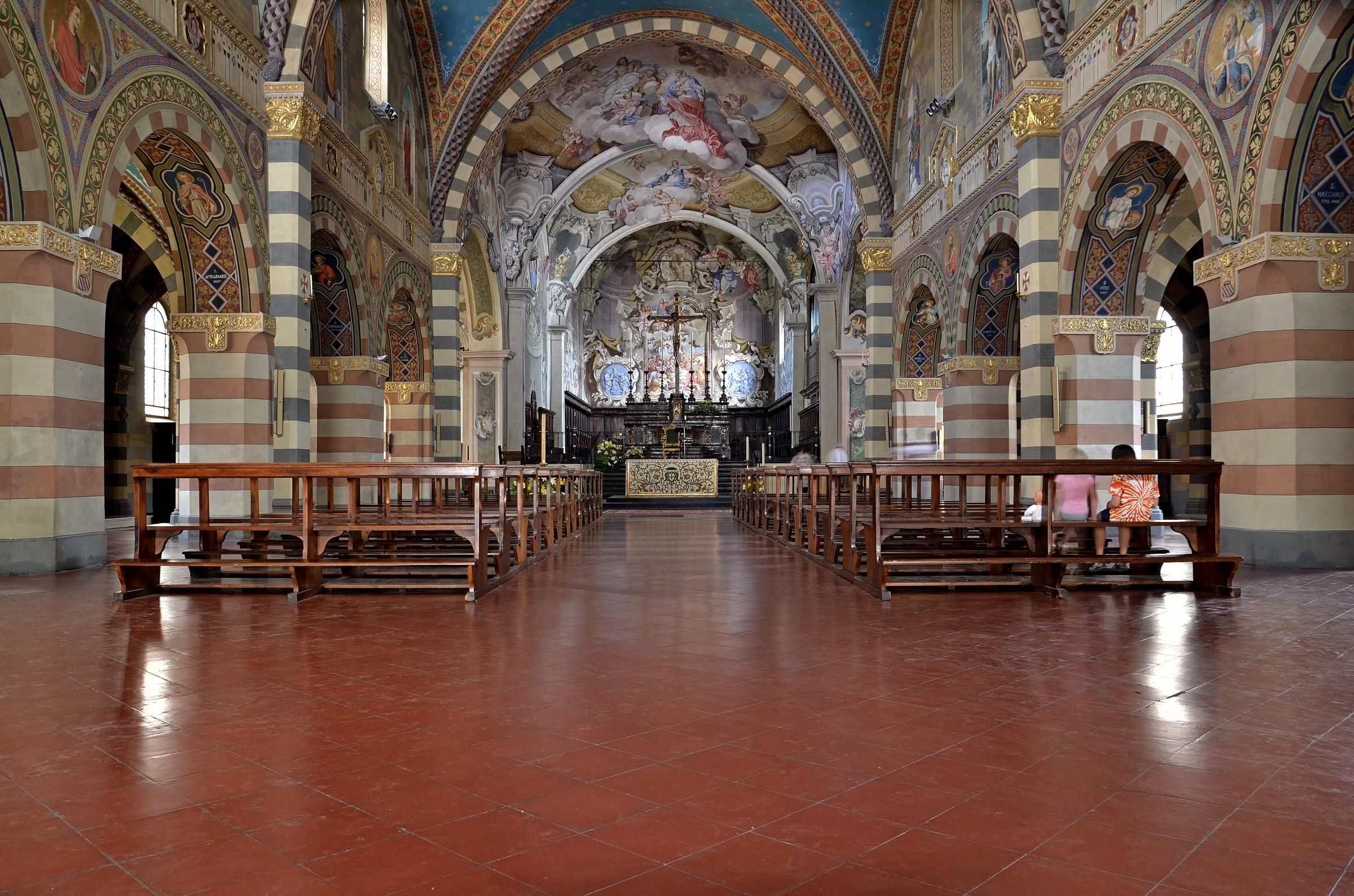 Bobbio - The Cathedral of Santa Mari Assunta...