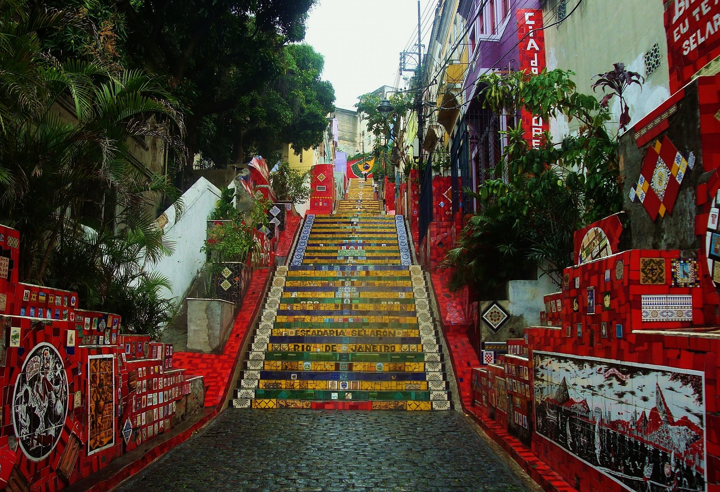 Escadaria Selaron...