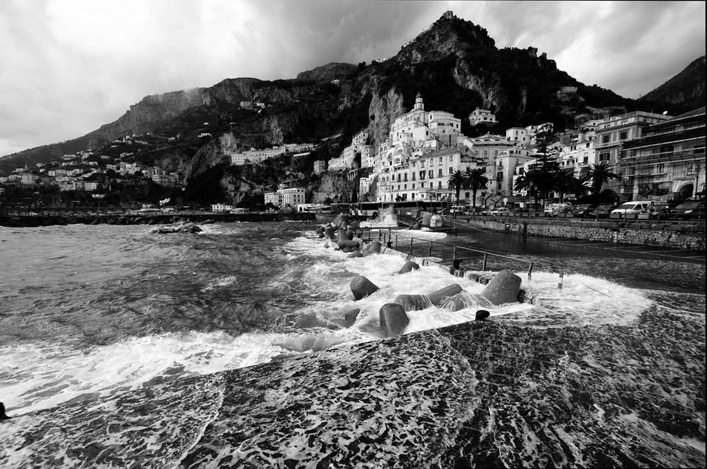 Amalfi - mareggiata...