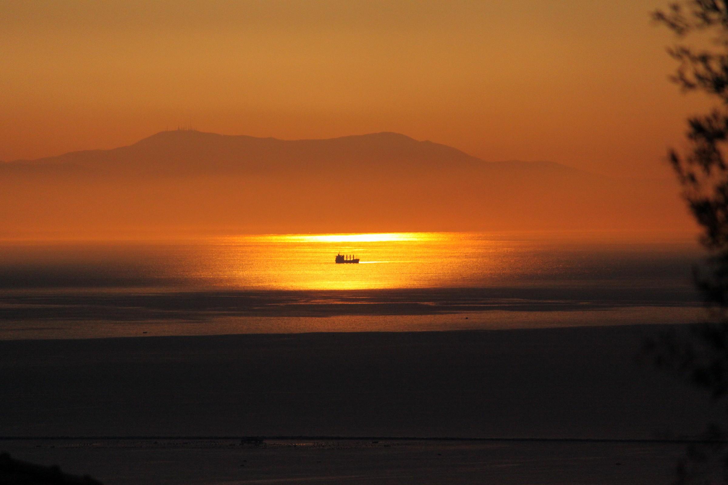 Sea-Sunset on the Gulf of La Spezia...