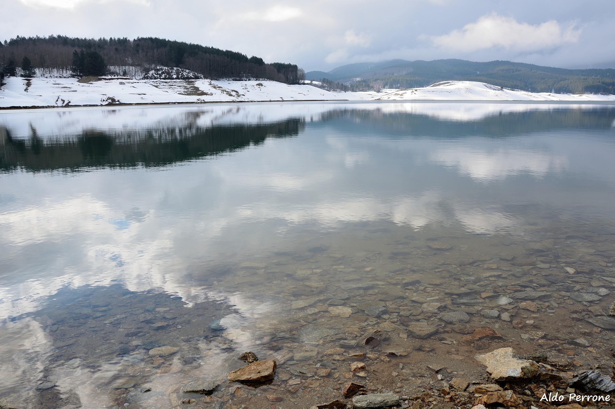 Lago del Passante, fiume Alli Taverna (cz)...