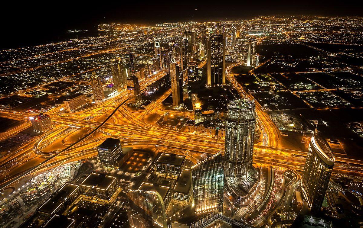 Dubai dal 124mo piano: emozione unica!...