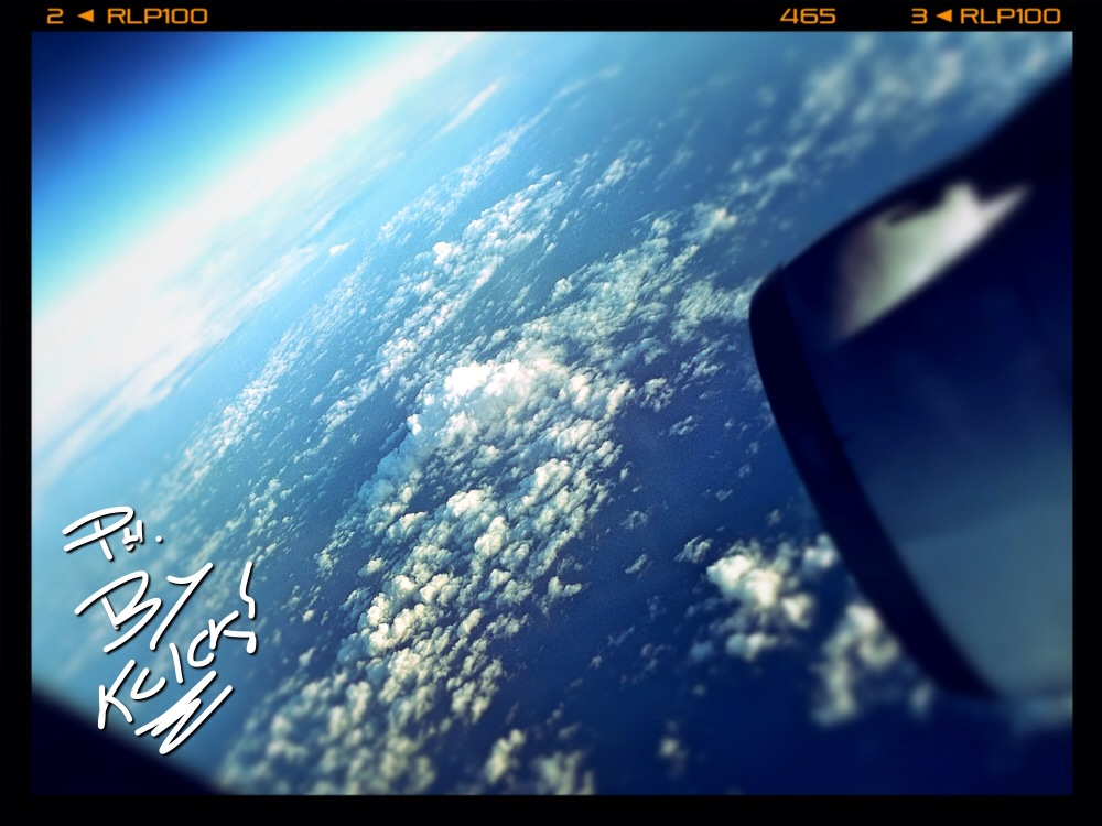 Volando.......
