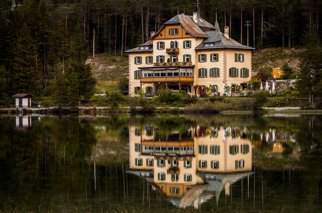 Reflections on the lake...