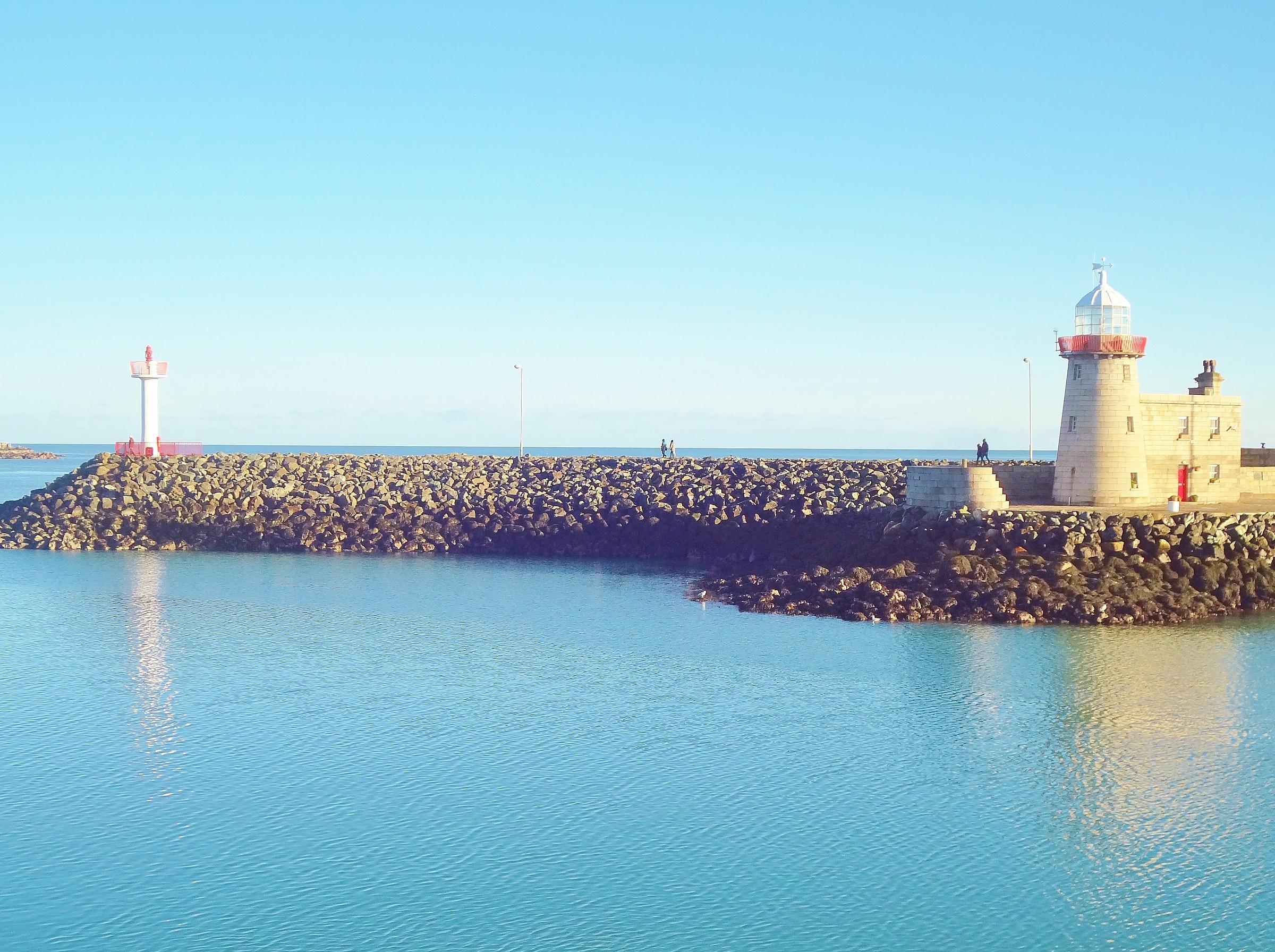 The pier Dublin...
