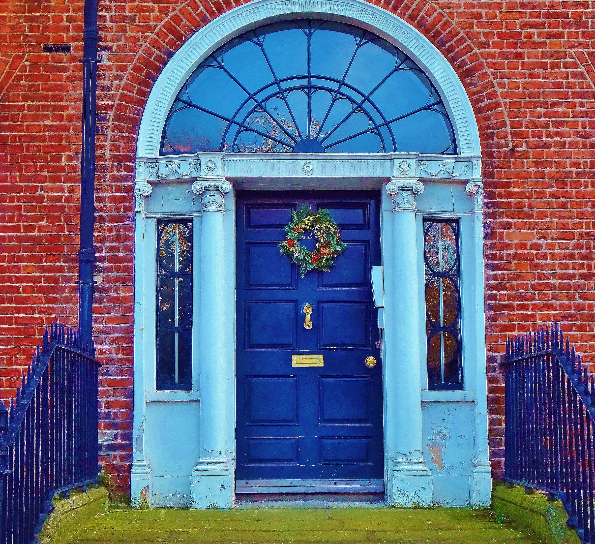 Colorful doors in Dublin...
