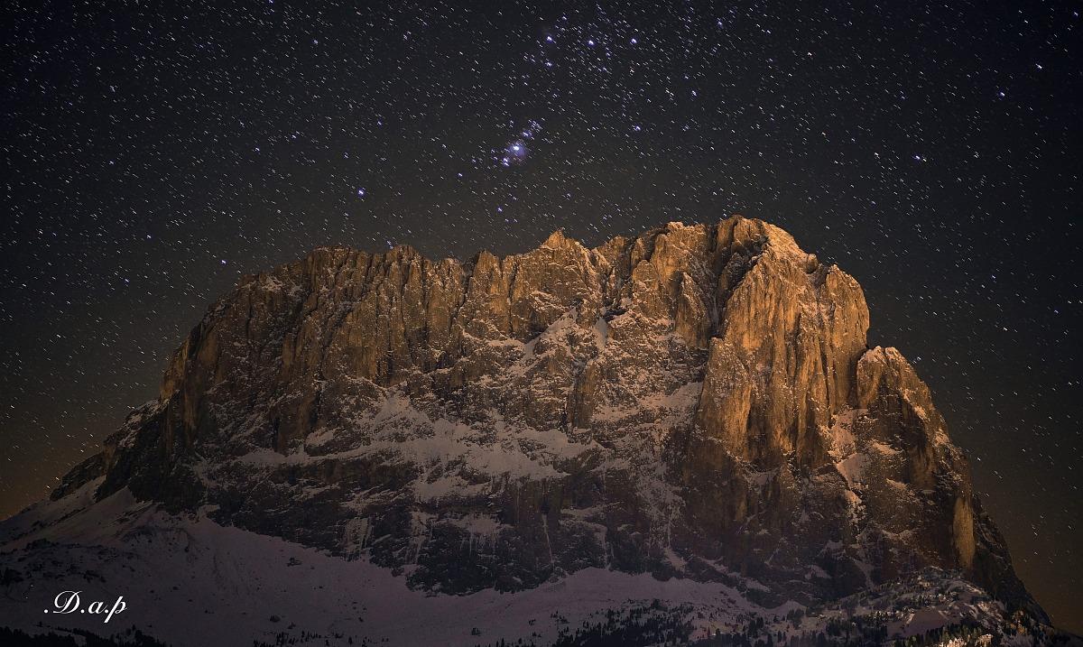 Sassolungo & stars...