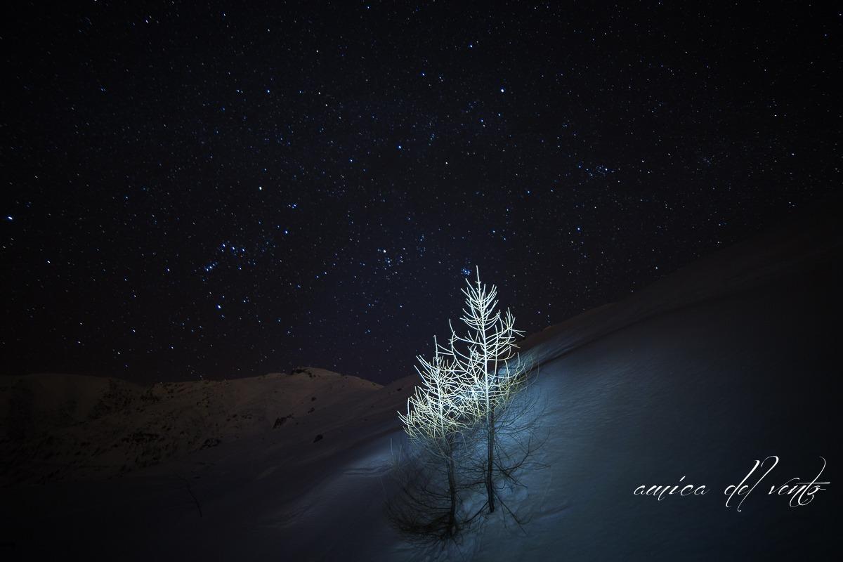 night falls ......