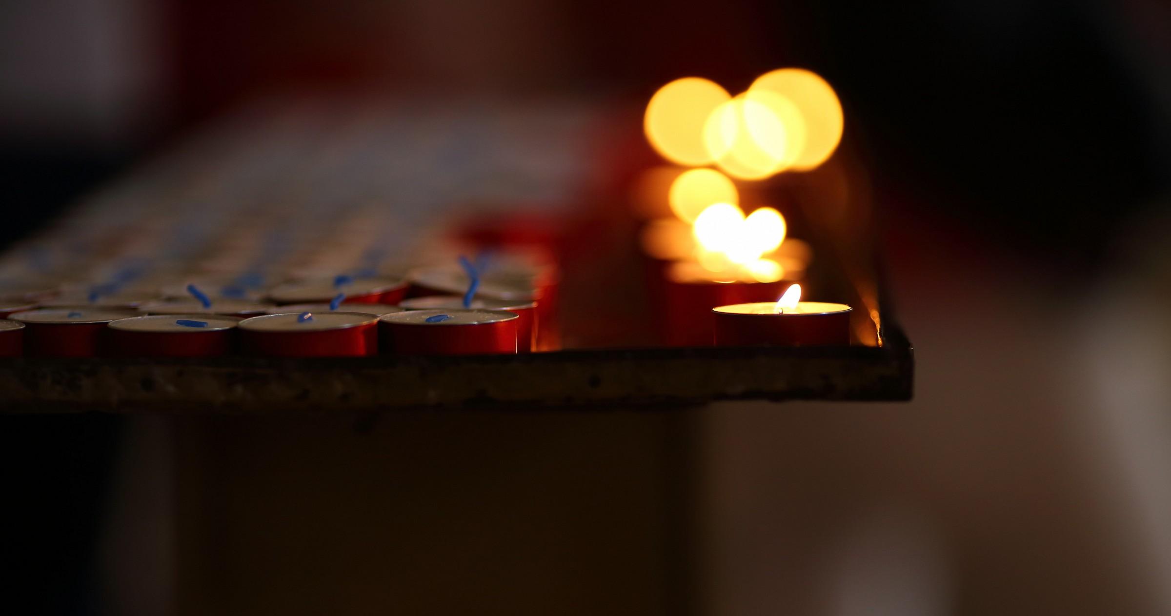 Una preghiera per ogni candela.......