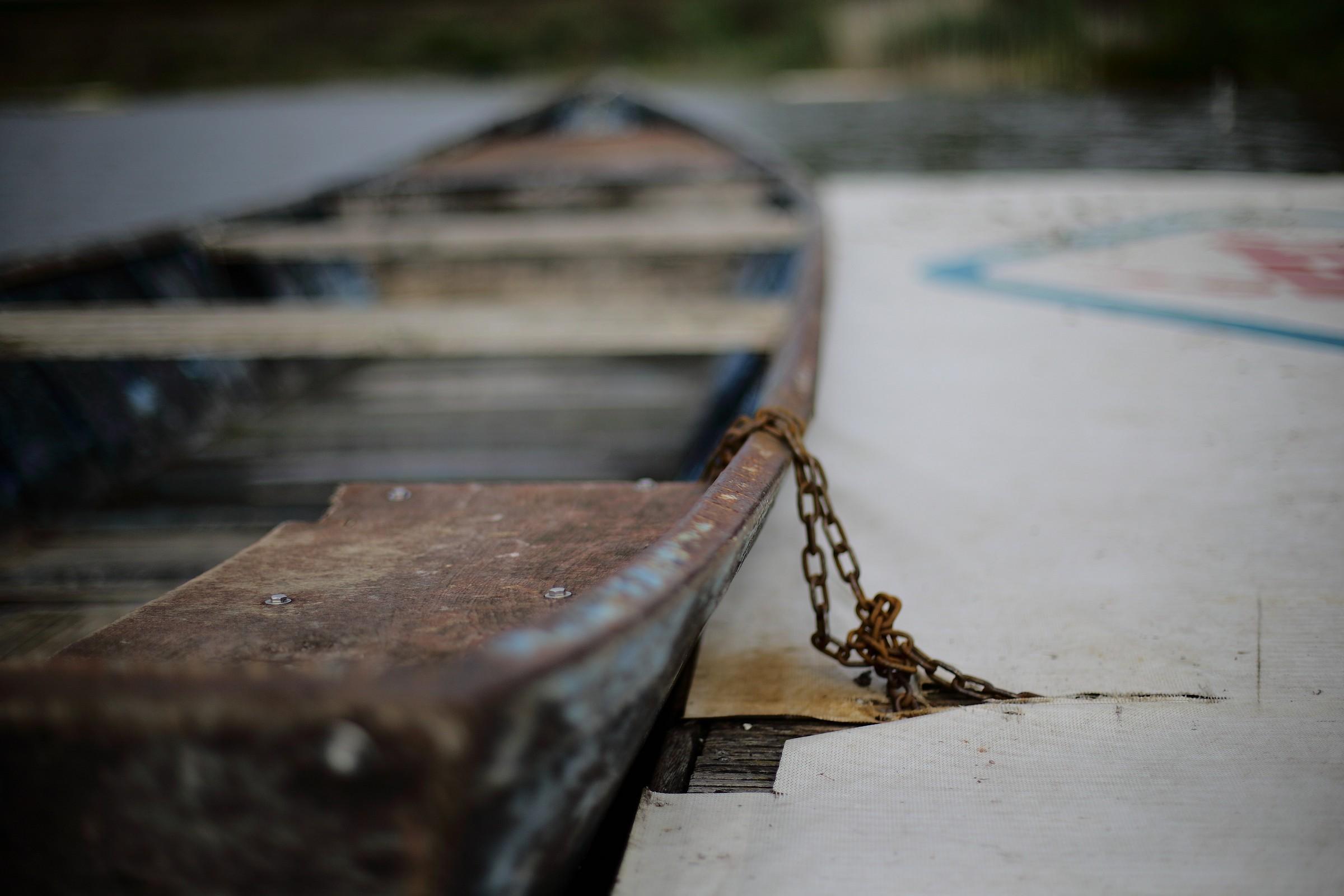 Old boat ........