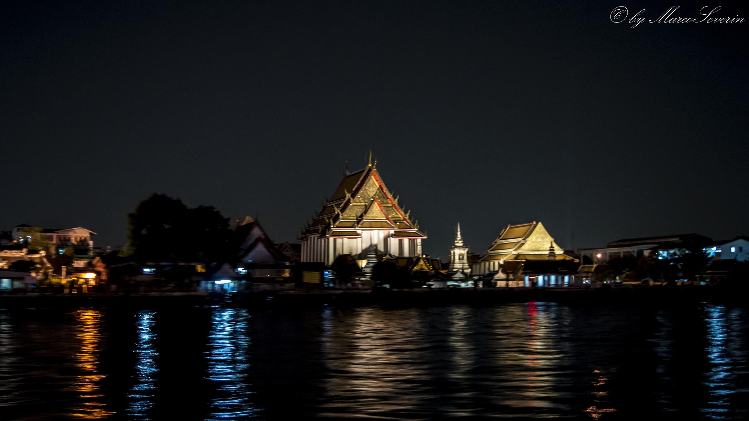 Dal fiume Chao Phraya...