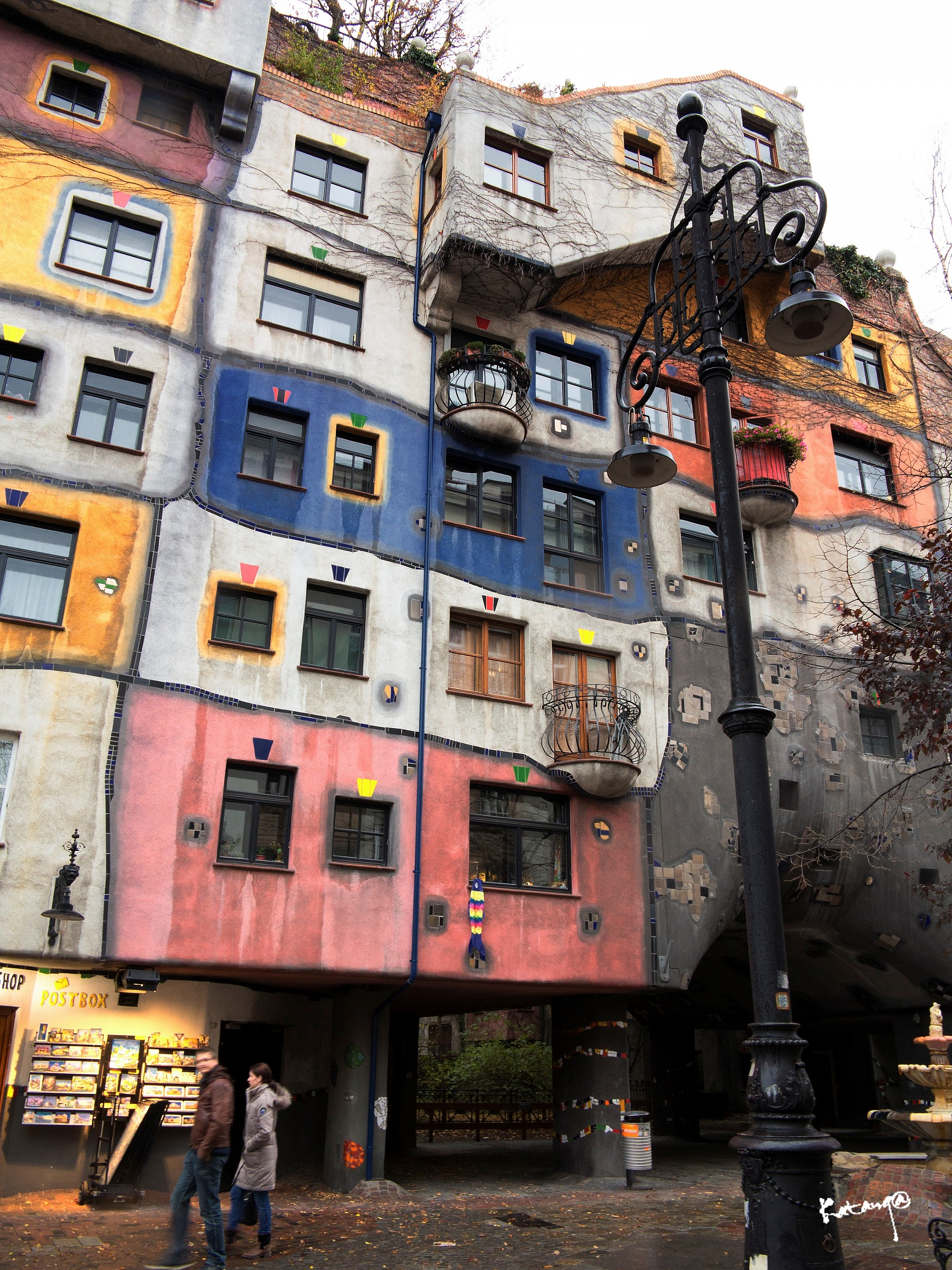 Hundertwasser House Vienna...