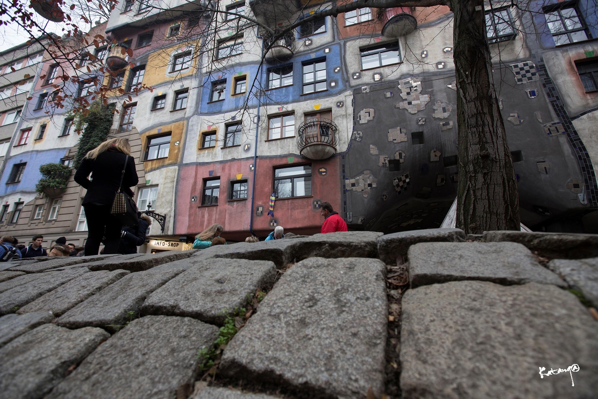 Hundertwasser House Vienna 3...