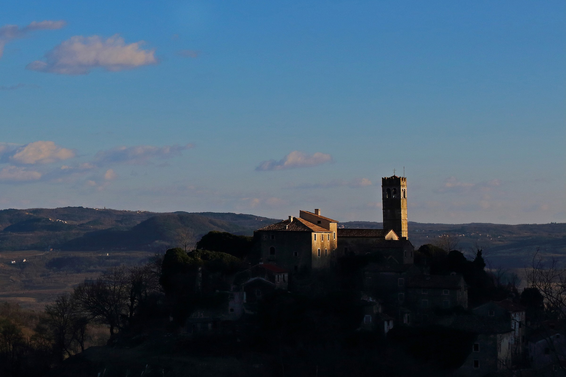 Tramonto a Piemonte d'Istria...
