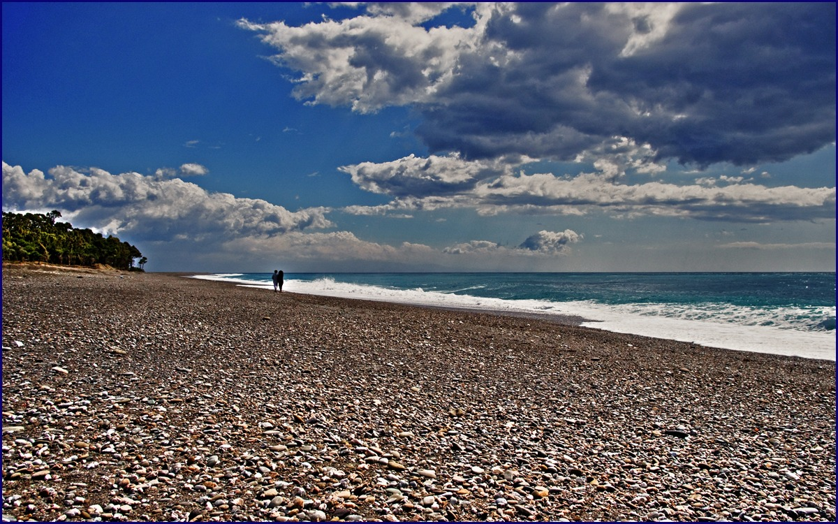 ... How beautiful the winter sea...