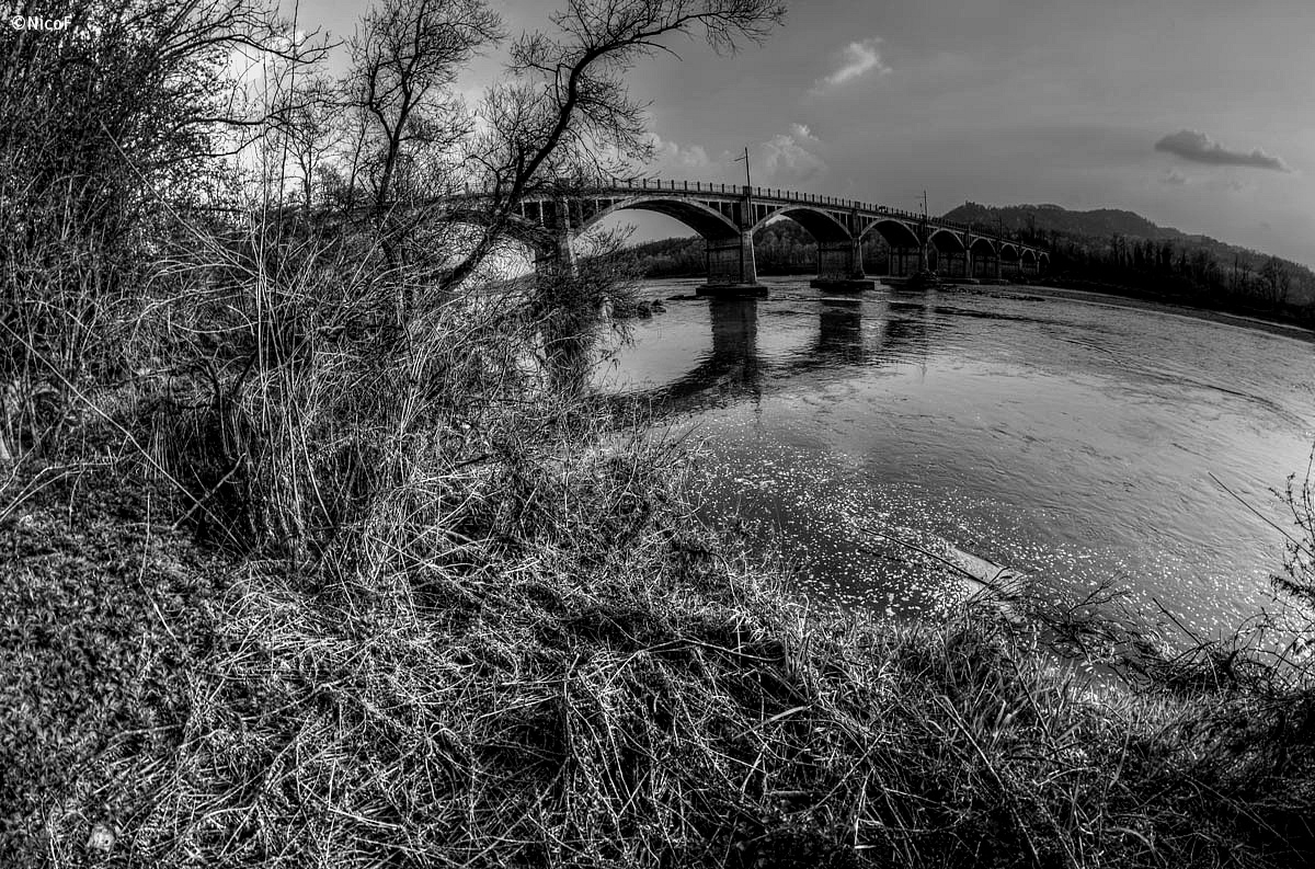 the bridge and the river sick...