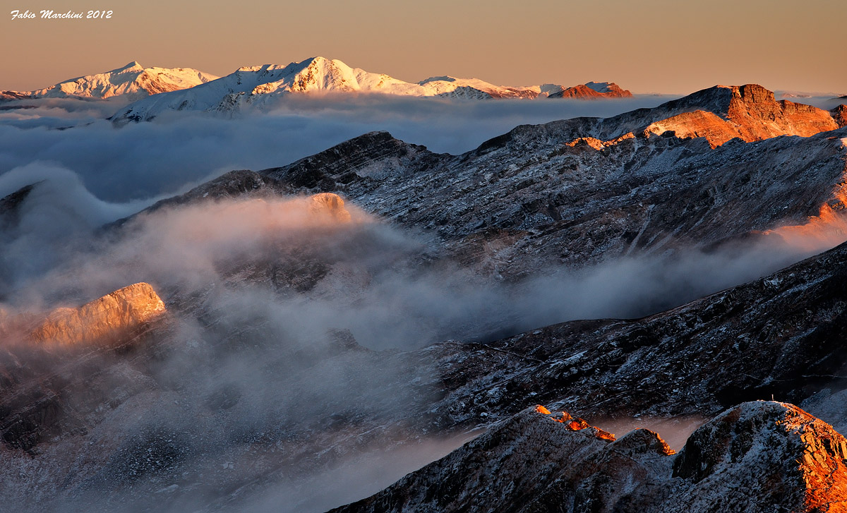 Tosco Emiliano Apennine ridge - 100 Park Lakes...
